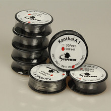 Buy 30feet /roll Kanth A1 Resistance Wire 30 Feet 28 30 awg Gauge Heating pre coil Wire DIY vape mod RDA atomizer for $7.59 in AliExpress store