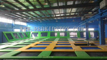 China Top Quality Big Gymnastics Trampolines Hottest Sports Trampoline Park HZ-LG023(China (Mainland))
