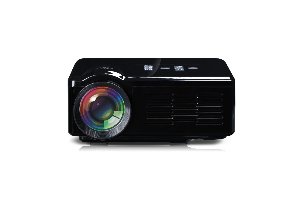 Beamer led mini projector free shipping beautiful good as for Miniature projector