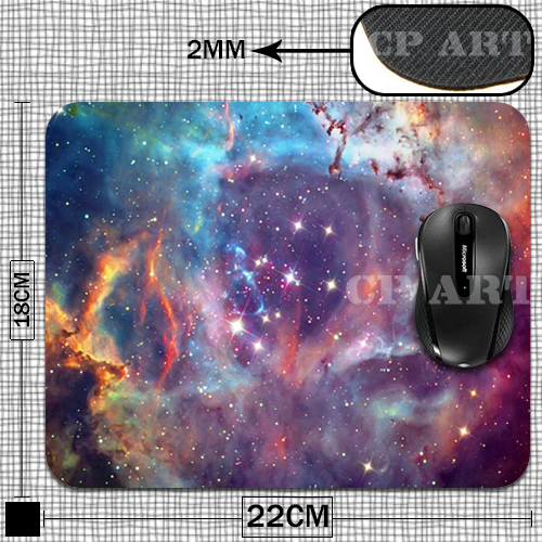 Гаджет  New Arrival Universe Gaming Pad Necessary Mouse Mat Mouse Pad Non-Skid Rubber Pad None Компьютер & сеть