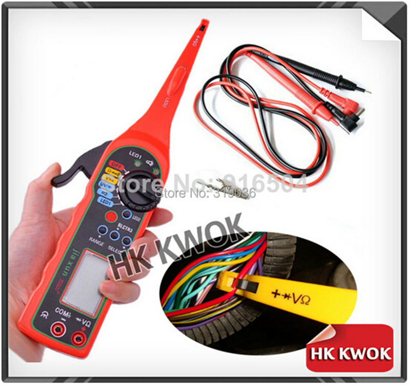 Multi-function Auto Circuit Tester Electricity Detector and Lighting 3 in 1 comewith a Instrucao Maual Frete Gratis Free HK Post(China (Mainland))