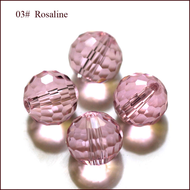 10mm 100 PCs Crystal Glass Faceted Round Beads 5003 for Jewelry Necklace Bracelet Earring Making Dresses Accessory(China (Mainland))