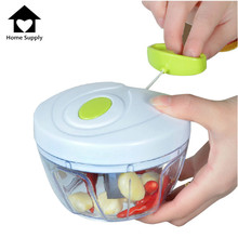 High Quality Stainless Steel Multifunctional Hand Speedy Vegetable Choppers Kitchen Onion Ginger Fruit Shredders Slicers K0074(China (Mainland))