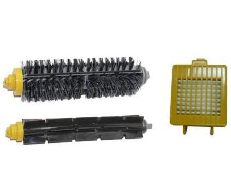 3pcs/set bristle brush +flexible beater brush+ HEPA filter For iRobot Roomba 700 760 770 780 Vacuum Cleaner Accessories(China (Mainland))