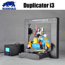 China wanhao  prusa i3 open diy 3d printer kit with a free filament