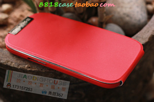 Turned down leather case for Samsung Galaxy SIII 9300 9 Colors free shipping wholesale supply