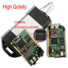 DHL Free Renault Can Clip V151 CYPRESS AN2135SC Chip Full Chip Diagnostic Tool with French/Russian Language