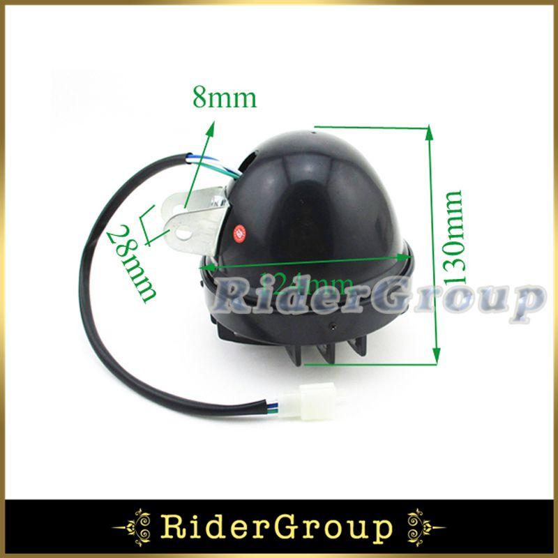 12V LED Front Head Light Headlight For 50cc 70 90 110cc 125cc 150cc 200cc Quad 4 Wheeler Go Kart ATV Roketa Taotao Kazuma Sunl(China (Mainland))