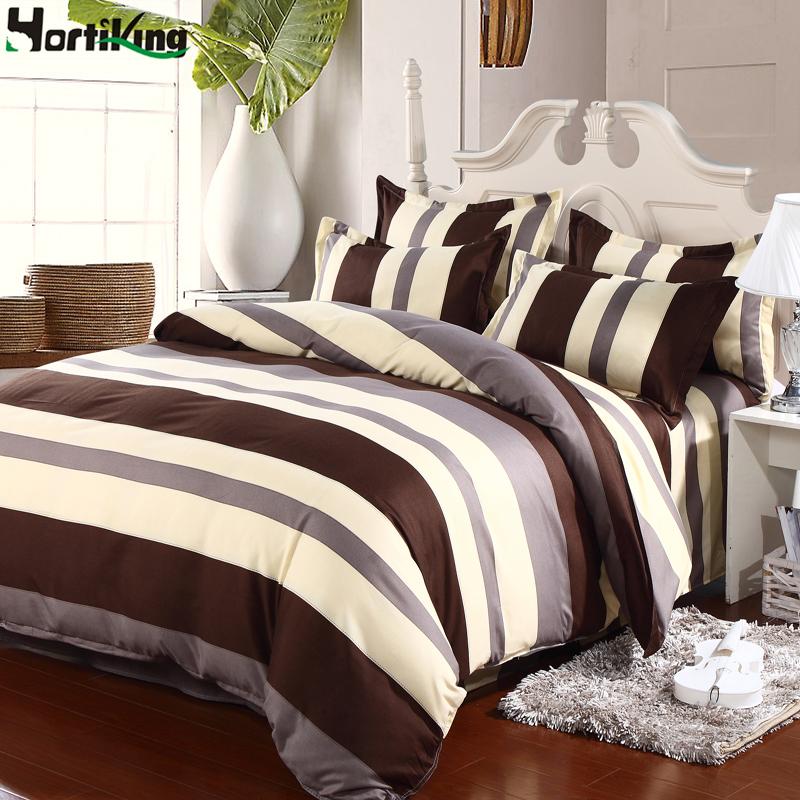 High quality plain weave sanding cotton bedding set comforter home textile bedding sets including 1*duvet 1*sheet 2*pillowcase(China (Mainland))