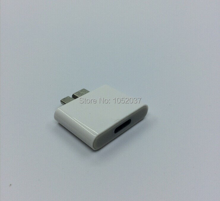 1pcs Micro usb 3.0 to 8 pin dock Charger converter Adapter for Samsung Note 4 Note 3 to iphone 6 5S Dock