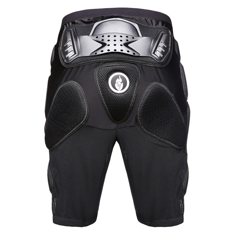 Unisex Motocross Racing Safety Shorts Skiing Cycling Armor Pads Sport Hockey Pants Hips Leg Protector Protective Gears #15031013(China (Mainland))