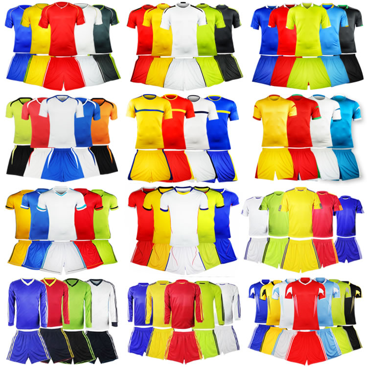 Hot sale! Free shippinng 2014 Brazil World Cup Soccer Jersey Blank Custom Football Team Uniforms Customize Printed Numbers(China (Mainland))
