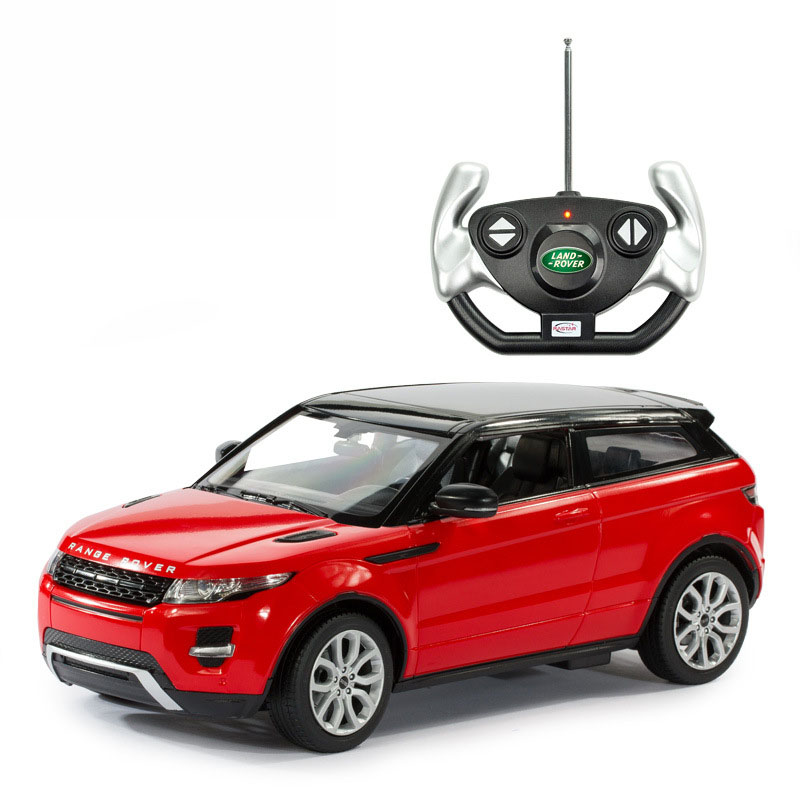 free shipping children rastar range rover evoque 1 14 remote control rtr electric rc cars toys. Black Bedroom Furniture Sets. Home Design Ideas