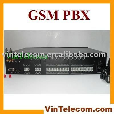 China PABX manufacturer VinTelecom TP824 GSM Wireless Line telephone PBX with 2SIMs 8 Lines x 24 Ext.(China (Mainland))