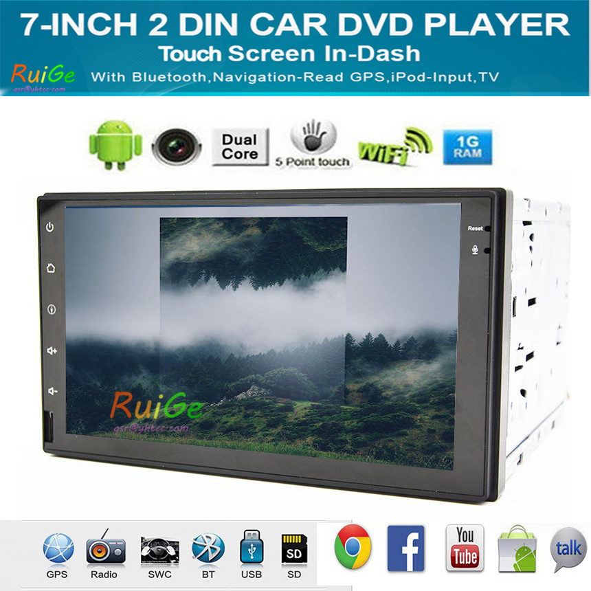 """7"""" screen Android 4.2 Double two din Car Media Radio Stereo Audio GPS Navi Navigation HD Touch Screen Car Pc Multimedia()"""