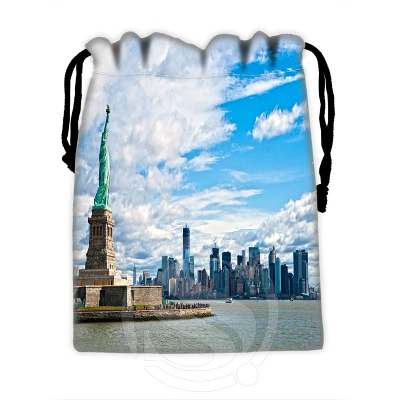 Best Nice Custom New York #1 drawstring bags for mobile phone tablet PC packaging Gift Bags18X22cm SQ00715-@H0297(China (Mainland))