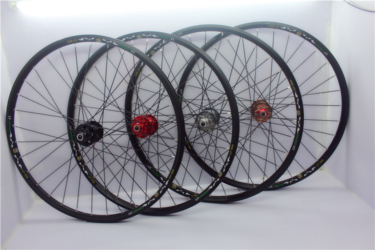 32 Spokes Bike Bicycle Wheel Cassette Wheelset 20-29 2Bearing Disk Disc Brake 20  26 27.5 29<br><br>Aliexpress