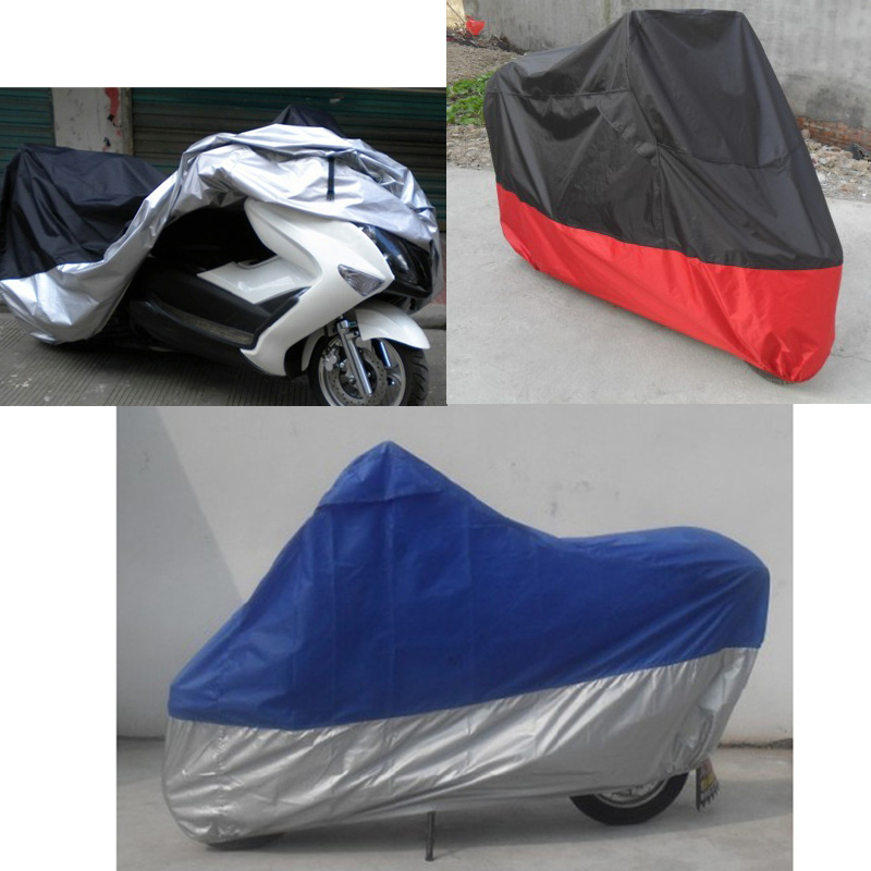 Motorcycle Bike Moped Scooter Cover Waterproof Rain UV Dust Prevention Dustproof Covering for Motorcycle protection(China (Mainland))