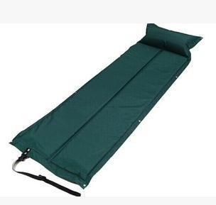 High quality inflatable mattress camping air bed self Inflating sleeping mat beach mat 2 colors(China (Mainland))