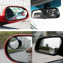 Wide Angle Round Convex Blind Spot Mirror Rear View Messaging Car Vehicle the black high quality(China (Mainland))