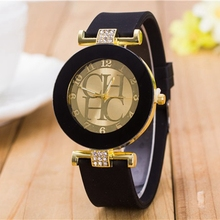 Luxury Brand Women Watch 2016 Candy Jelly Color Rhinestone Quartz Watches Women Silicone Wristwatches Casual Dress Clock Gifts