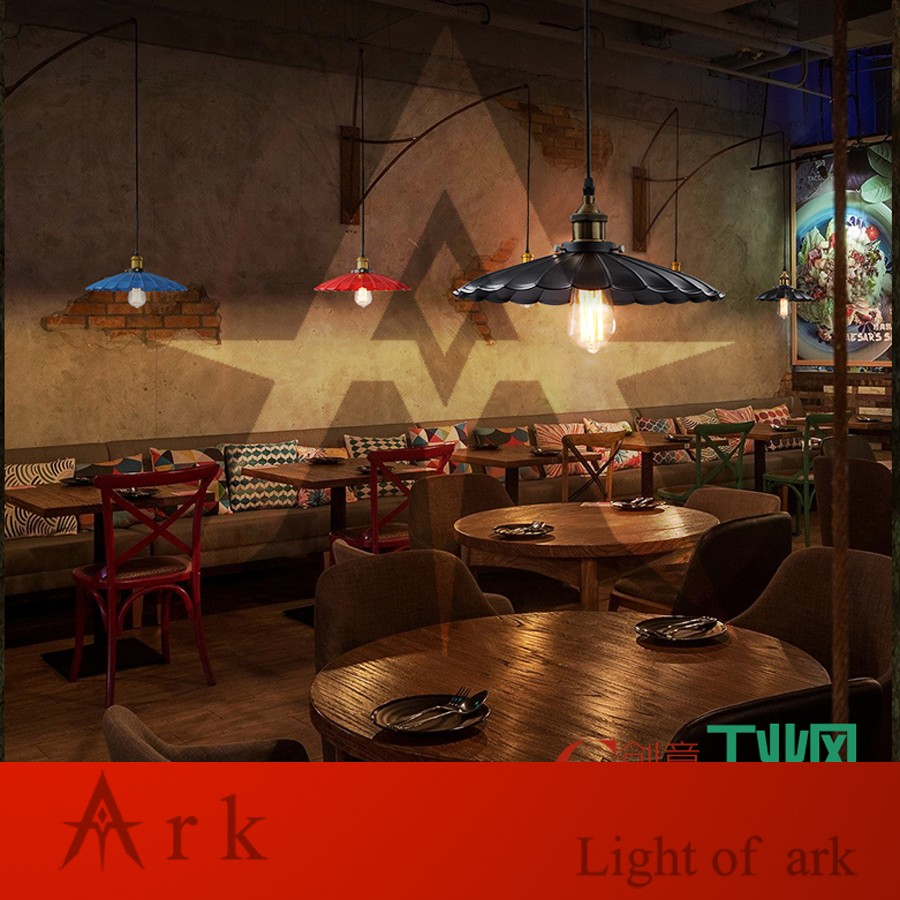 ARK LIGHT IRON DIA 42CM Pendant light american old furniture nostalgic  vintage for Balcony aisle hallway DINING ROOM - us766