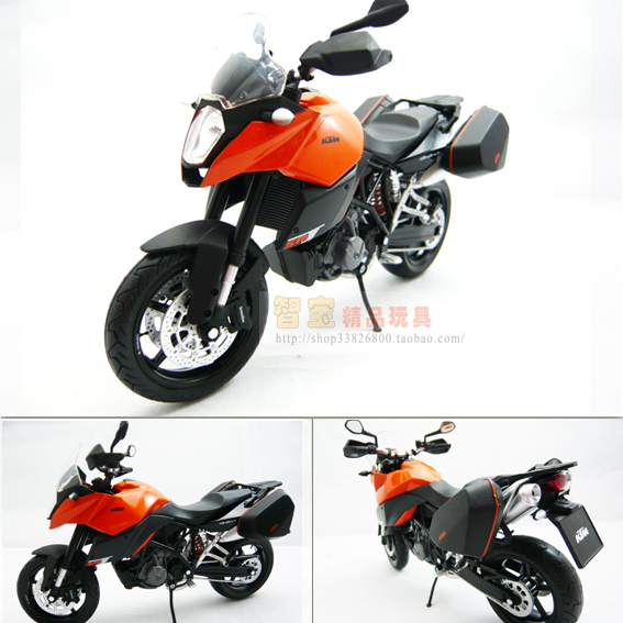 ktm 990 cool alloy motorcycle model exquisite gift