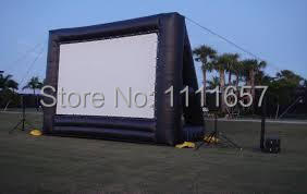 Giant inflatable movie screen,outdoor inflatable screen for sale(9*7)(China (Mainland))