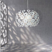 Dandelion chandeliers lamp diameter 45cm/55cm/75cm aluminum ball Restaurant/ bedroom hanging light fixture(China (Mainland))