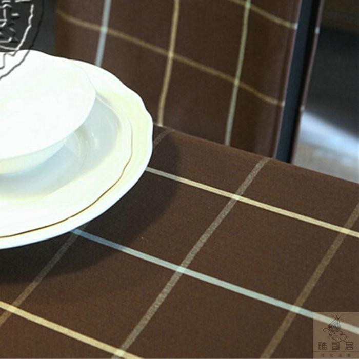 Habitat cotton plaid tablecloth tea table cloth towel multi-purpose cover cushion discount coffee table flag grid(China (Mainland))