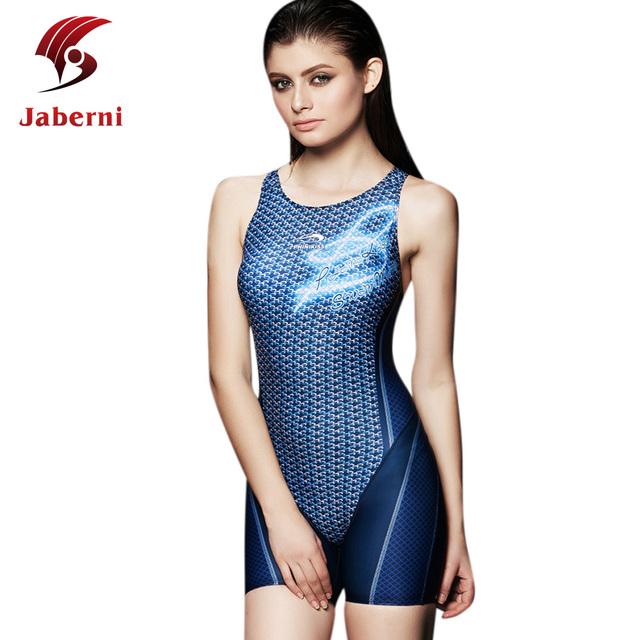 Конкурс профессионального женщин купальники спорт купальник женский гонки один кусок купальники печать с брюками Большой размер купальный костюм
