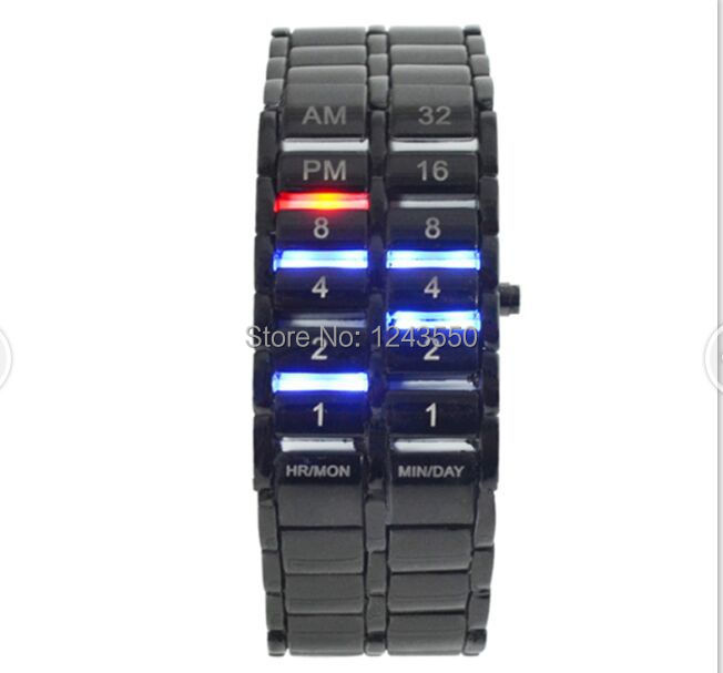 Free Shipping 5pcs/lot 2015 New Creative 2rd Generation Lava LED Watches Fashion Wristwatch sport watches Factory Direct Price(China (Mainland))