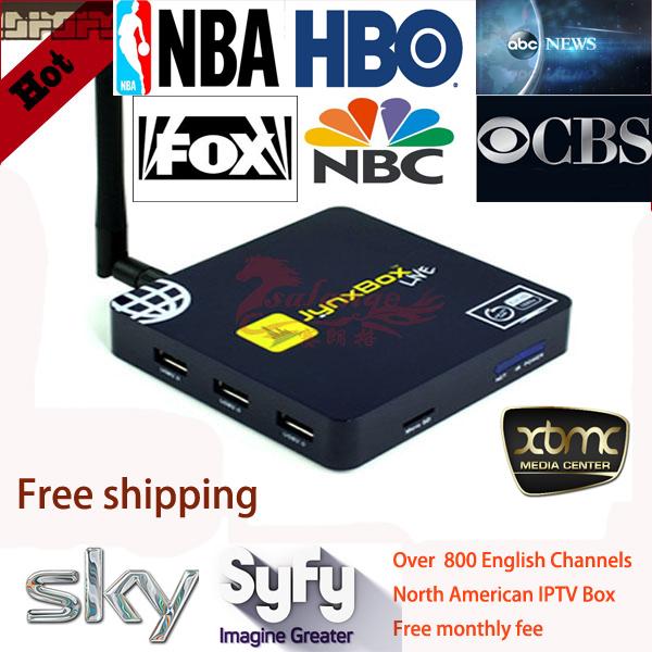 Free Shipping,Free Arab Sex Movies Iptv Receiver,Jynx North American Tv Channels ,WiFi HDMI Smart Android Mini PC Arabic TV Box(China (Mainland))