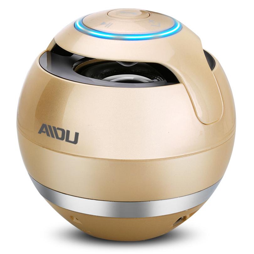 AIDU Brand Mini Portable Wireless Bluetooth Speaker Audio Sound Super Bass Subwoofer Speaker Amplifier Stereo For Smart Phone PC(China (Mainland))