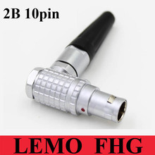 Buy LEMO Connector Elbow Plug FHG.2B.310.CLAD 10 Male Contact plug LEMO FHG 2B 310 10 Pin for $16.99 in AliExpress store
