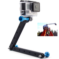 Aluminum Extension Arm Mount Holder for GoPro HERO 2 3 3 4 Cameras Blue OS019