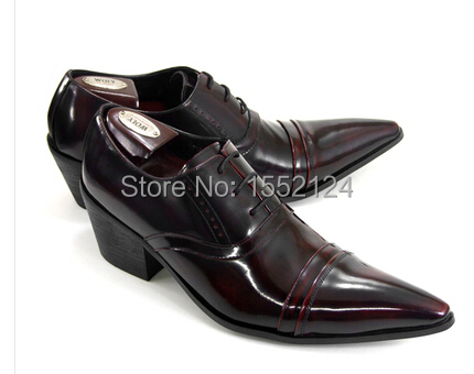 Arrylinfashion Men shoes oxford Italy Design Men Business Shoes Black/winered Formal Dress Shoes Genuine Leather Flats wholesale<br><br>Aliexpress