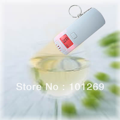 Promotional gift 100% new brand digital alcohol tester/digital wine alcohol tester with keychain pft64s(China (Mainland))
