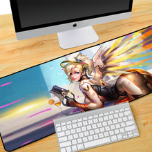 Buy Professional large Gaming anime Mouse Pad Locking Edge 800*300*2 Mause Mat Dota 2 cs go computer PC game gamer mousepad for $11.29 in AliExpress store