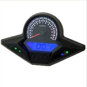 Universal motorcycle speedometer   LCD Digital Odometer speedo free shipping<br><br>Aliexpress