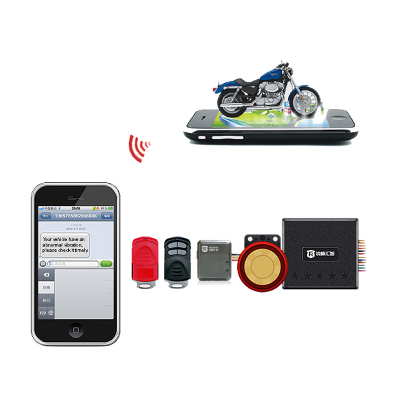 GPS Tracker Motorcycle Anti-theft Alarm Remote Controller GSM/GPRS Location Smart Host Mini Motorcycle Tracking Device RF-V10+(China (Mainland))