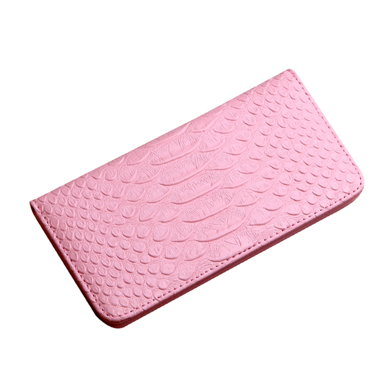 Slim Clasp Women Wallets Alligator Pu Leather Long Wallets For Female 2017 Designer Fashion Cards Holder Women Purse Wallets(China (Mainland))