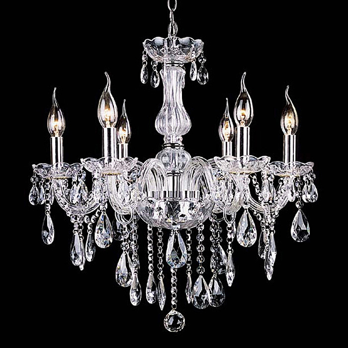 Modern Chandelier Lustre Crystal Chandeliers 4/6/8/10/12/15/18 Arms Optional Lustres De Cristal Chandelier LED Without Lampshade(China (Mainland))