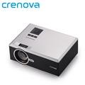 Crenova XPE470 Mini Projector 130 Support HD 1080P Video via SD card HDMI VGA USB Drive