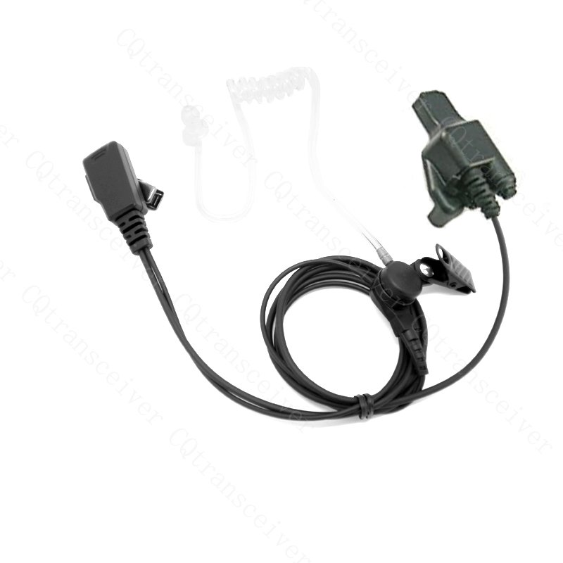 Surveillance Headset Kit with built in mic for Motorola Military radio MTX838 MTS2000 MTX900 MTX1000 MTX8000 MTX9000(China (Mainland))