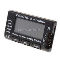 Digital Battery Capacity Checker for LiPo LiFe Li-ion NiMH Nicd Battery,   RC CellMeter 7 Capacity Controller