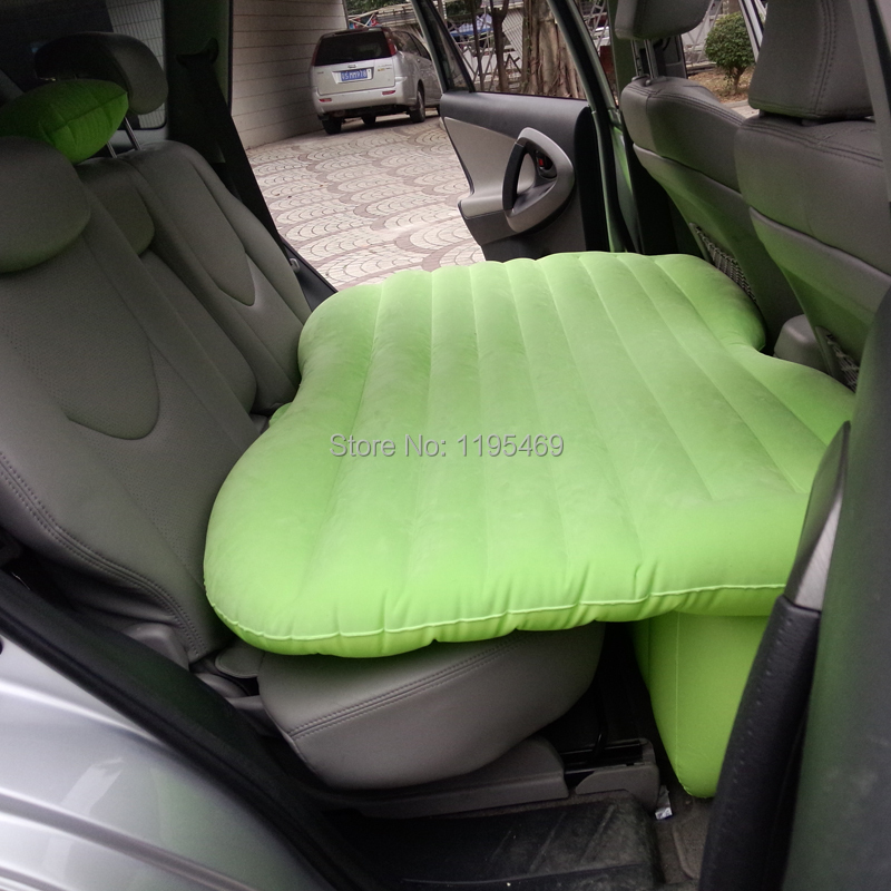 Colors Back seat Car Inflatable Mattress Car air Bed cushion thickening with and Car air Pump,an inflatable pillow,DHL Shipping(China (Mainland))