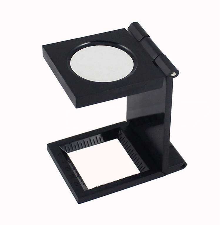 Гаджет  NEW Hands Free 10X 27mm Folding Magnifier with Scale Magnifying Glass Jewelry Loupe None Инструменты