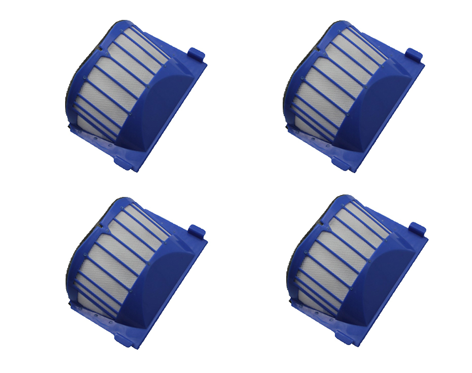 50pcs AeroVac Filter for iRobot Roomba 536 550 551 552 564( only compatible with AeroVac Bins) FBTY000B(China (Mainland))