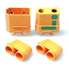 2Pair XT90S XT90-S Male & Female Battery Plugs Connector for RC Battery brushless motor Quadcopter FPV Drone Free shipping